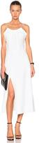 Victoria Beckham Ruched Cami Flared Dress