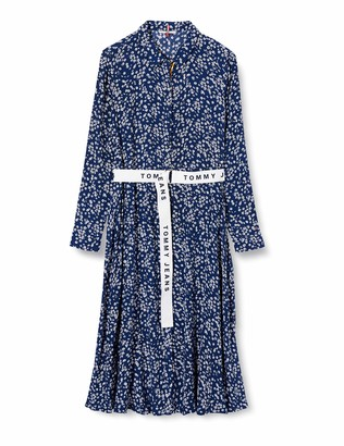 Tommy Jeans Women's TJW Print Mix Shirt Dress