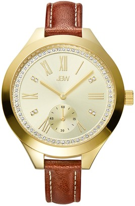 JBW Women's Aria 18K Gold Plated Stainless Steel Diamond Watch, 40mm - 0.08 ctw