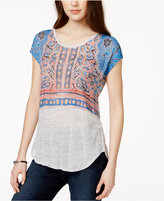 Lucky Brand Short-Sleeve Printed T-Shirt