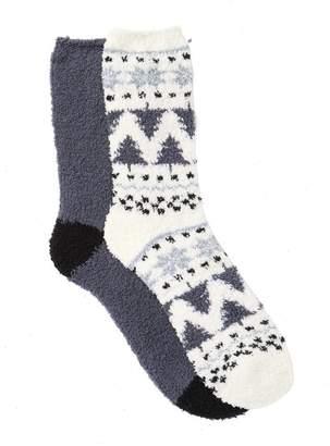Nordstrom Fairisle Butter Socks - Pack of 2