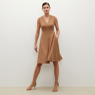 M.M. LaFleur The Jaycie DressWashable Wool Twill