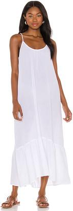 Seafolly Double Cloth Midi Slip Dress