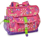 Bixbee Girl's 'Medium Butterfly Garden' Backpack - Pink