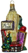 Kurt Adler Polonaise Heirlooms Handblown Handpainted New York City Collage Ornament