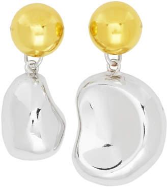 Aalto Mounser Silver Mini Mismatched Earrings