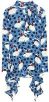 Marni Printed silk shirt