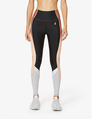 P.E Nation Field Run high-rise stretch-jersey leggings
