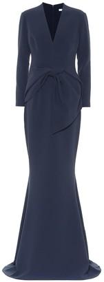 Safiyaa Leticia stretch-crApe gown
