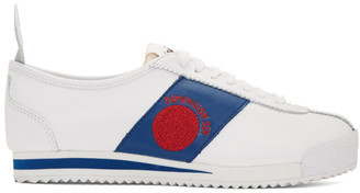 Nike White Dimension Six Cortez 72 Shoe Dog Pack Sneakers