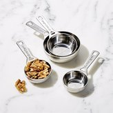 Crate & Barrel Le Creuset ® Stainless Steel Measuring Cups