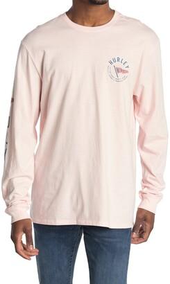 Hurley Premium Flag Long Sleeve T-Shirt