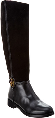 Tory Burch Miller Suede & Leather Boot