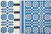 Ace & Jig Blue Boho 4 x 6' Rug