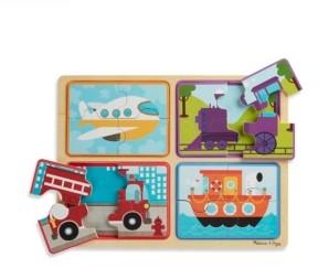 Melissa & Doug Np Wooden Puzzle - Ready, Set, Go