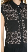 Marc by Marc Jacobs Leila Lace Romper