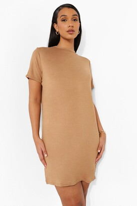 boohoo Short Sleeve T Shirt Dress