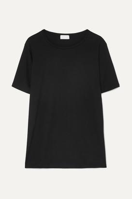 HANDVAERK Pima Cotton-jersey T-shirt - Black