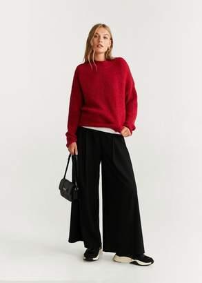 MANGO Chunky-knit sweater strawberry - XS - Women