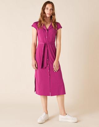 Under Armour Brianna Jersey Midi Dress Pink