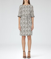 Reiss Noemie Printed Dress