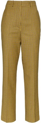 Racil Roy gingham trousers