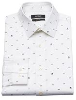 Apt. 9 Men's Bow Tie Slim-Fit Stretch Spread-Collar Dress Shirt