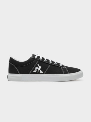 Le Coq Sportif Mens Verdon Plus Sneakers in Black