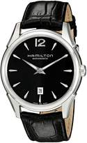 Hamilton Men's H38615735 Jazzmaster Slim Dial Watch