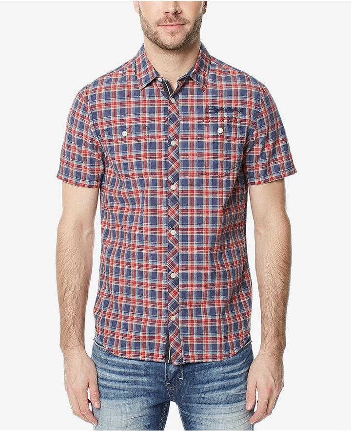Buffalo David Bitton Men's Santonis Plaid Shirt