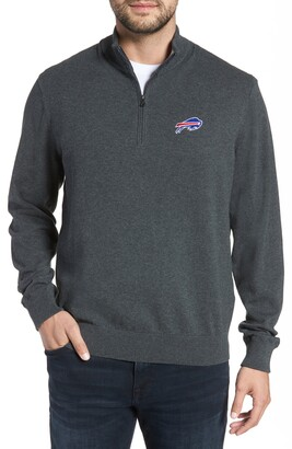 Cutter & Buck Buffalo Bills - Lakemont Regular Fit Quarter Zip Sweater