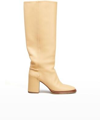 Chloé Edith Calfskin Mid Boots