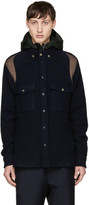 Tim Coppens Navy Worker Overshirt Jacket