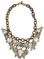 Lulu Frost Crystal and Faux Pearl Necklace
