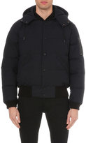 Sandro Pufferknit Quilted Shell Jacket