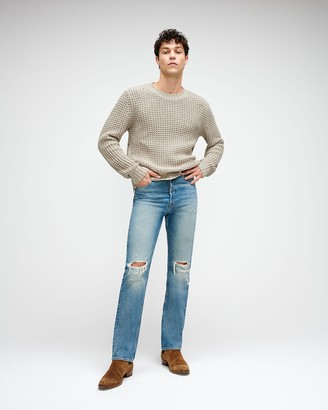 7 For All Mankind Vintage Straight Selvedge Jean in Canal