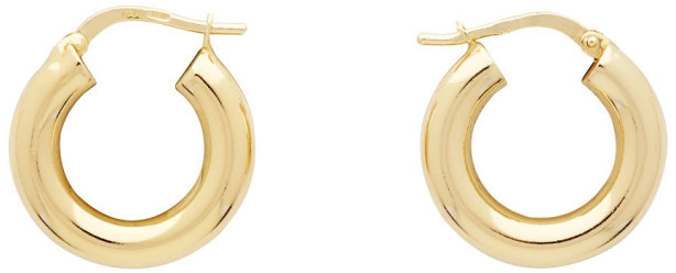 Bottega Veneta Gold Sterling Earrings