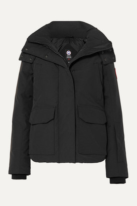 Canada Goose Blakely Hooded Shell Down Jacket - Black