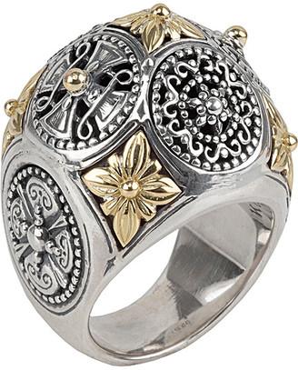 Konstantino 18K & Silver Ring