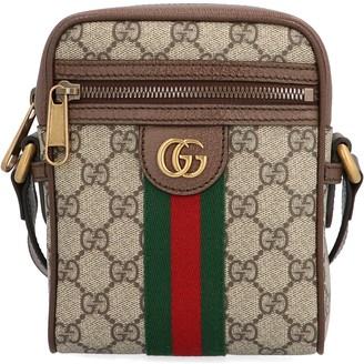 Gucci Ophidia Stripe Logo Shoulder Bag