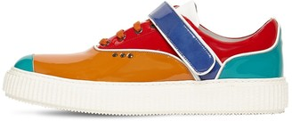 Me.Land Beaker Patent Leather Sneakers