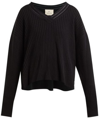 By. Bonnie Young - V-neck Cashmere-blend Sweater - Black
