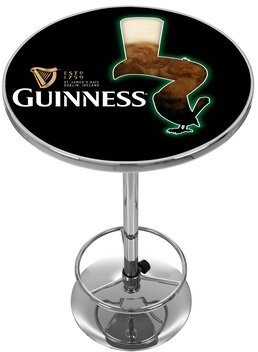Guinness Trademark Global Feathering Pub Table Trademark Global