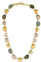 Gurhan Diamond Pavé & Multistone Amulet Collar Necklace