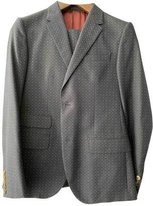 Gucci Navy Cotton Suits