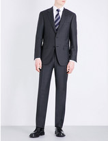 Canali Nailhead wool suit