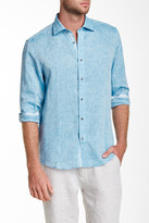 Report Collection Long Sleeve Linen Modern Fit Sport Shirt