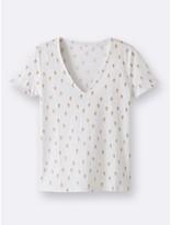 CYRILLUS T-shirt femme imprimé cactus
