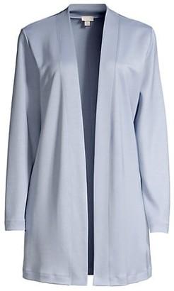 Hanro Pure Comfort Open-Front Cardigan