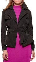 Lauren Ralph Lauren Peplum Trench Coat